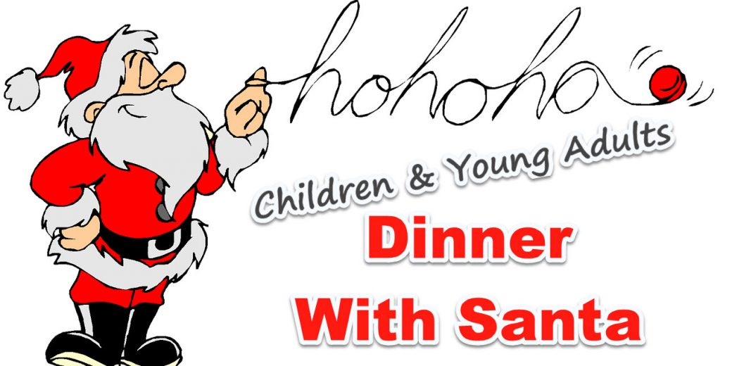 image for dinner with santa event